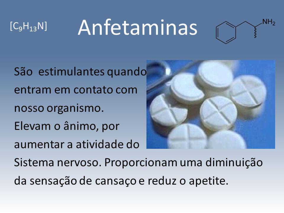 Anfetaminas [C9H13N]